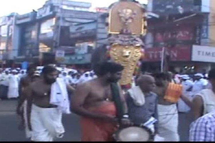 Muslim Anti-CAA Protesters Help Temple Procession Pass In Kerala