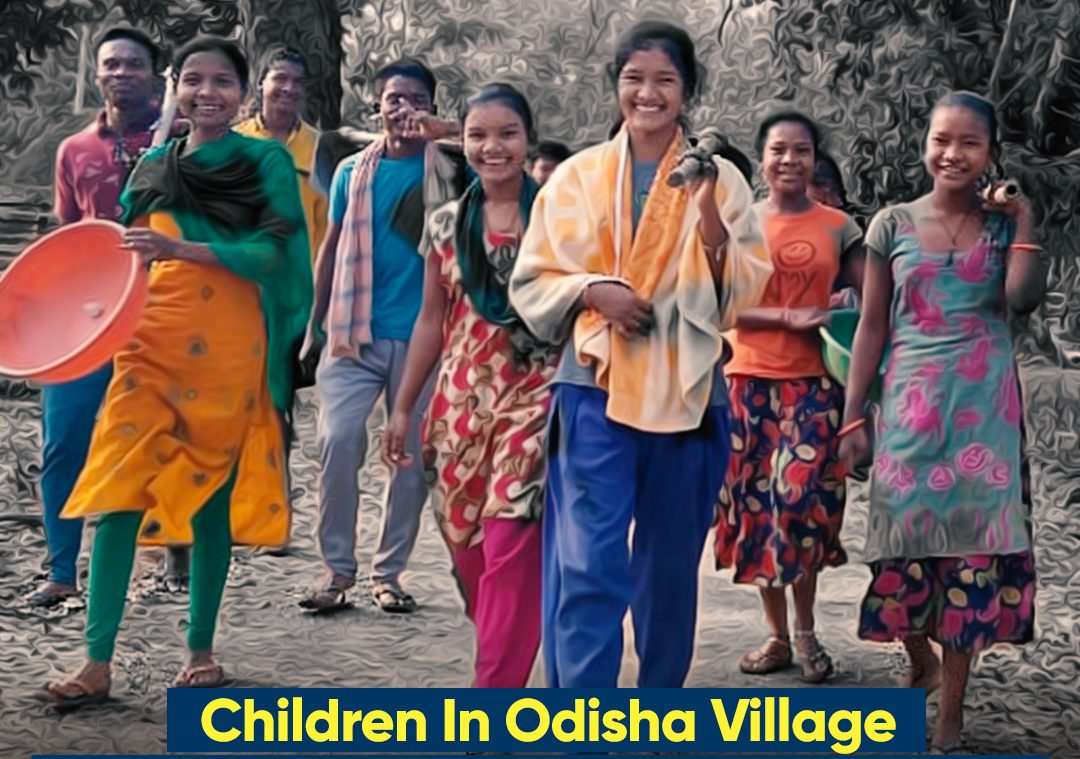 Children In Odisha Village Take Charge, Repair Road To School