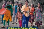 Children In Odisha Village Take Charge, Repair Road ToSchool