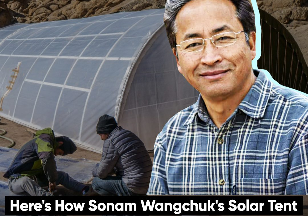 Here's How Sonam Wangchuk's  Solar Tent Will Keep Army Warm In Ladakh