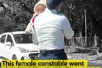This female constable went viral for taking her baby to work