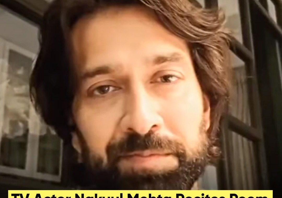 TV Actor Nakuul Mehta Recites Poem On Covid Crisis