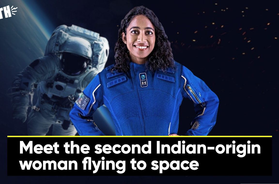 Meet the second Indian-origin  woman flying tospace